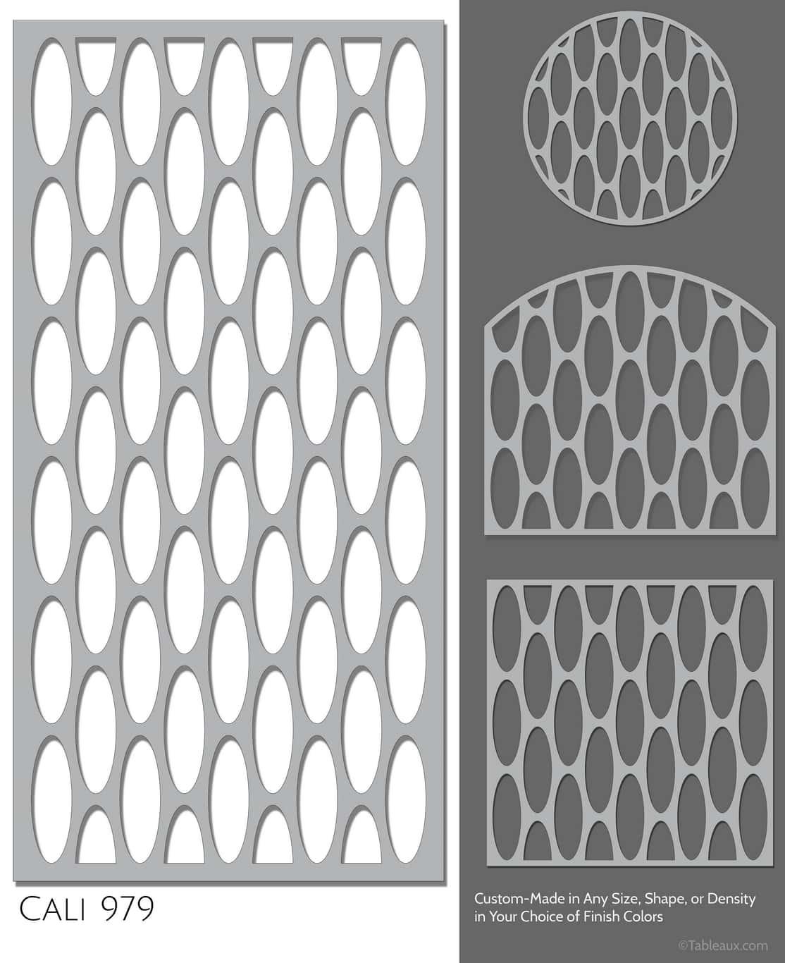 """Tableaux Decorative Grilles Design Pattern """"Cali"""""""