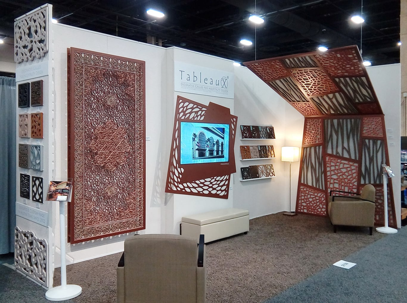 Tableaux exhibit at HD Expo