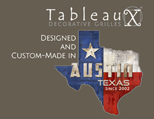 Tableaux, designed & custom-made in Austin, Texas